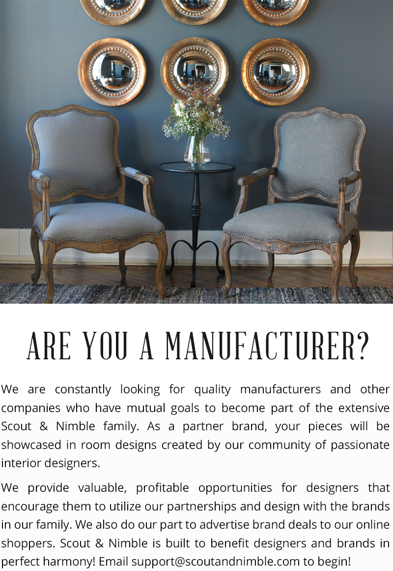 Are you a Manufacturer?